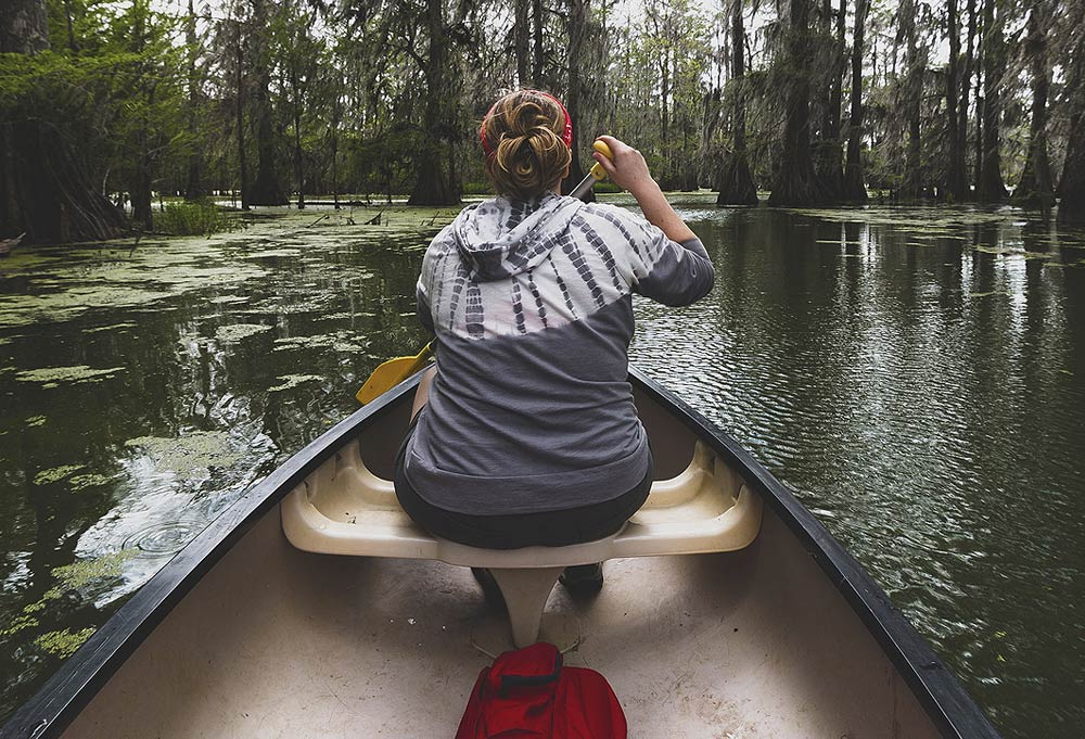 Big Cypress RV Resort - Tour the Swamp - Canoeing