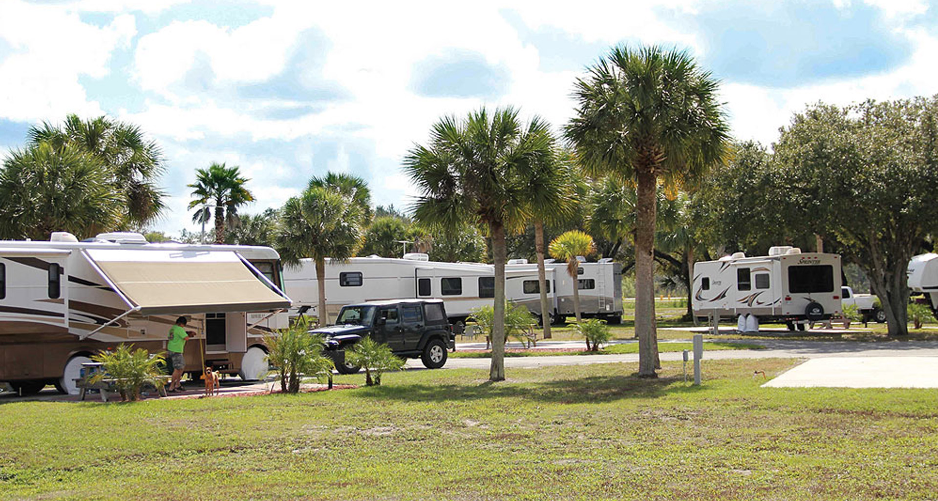 Big Cypress RV Resort in the Florida Everglades